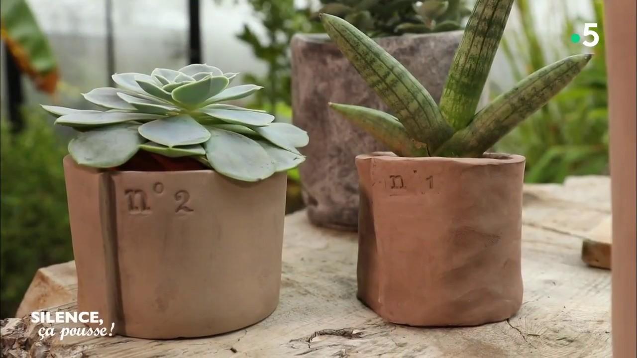 Atelier Créatif Des Pots En Argile Auto Durcissant Youtube