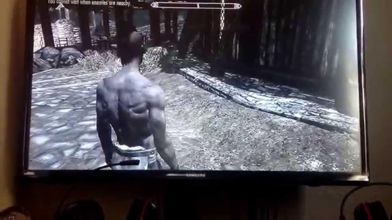 Skyrim vampire lord/ werewolf hybrid guide - YouTube