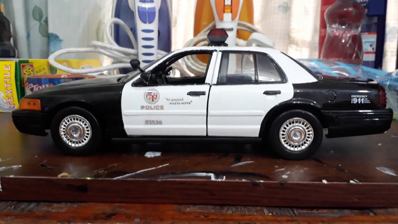 1 18 lapd crown vic by motormax after