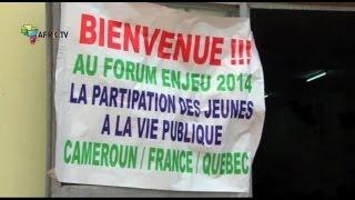 Cameroun: Forum ENJEU 2014