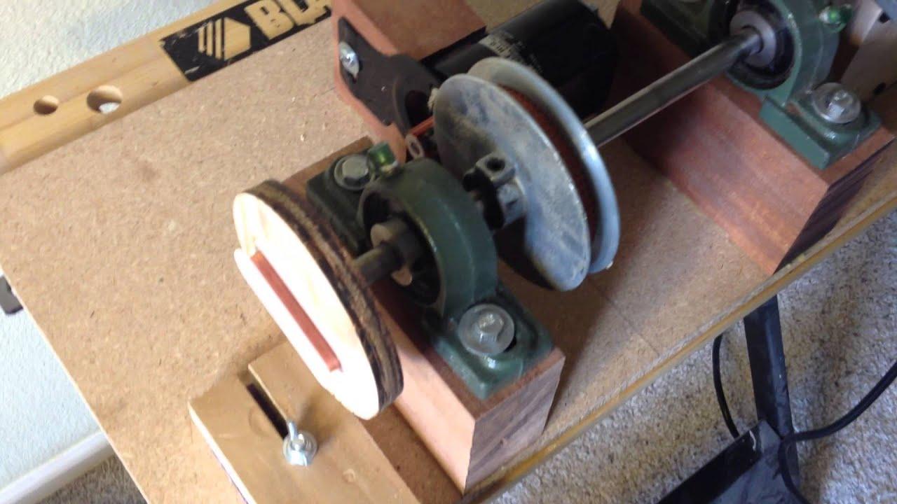 electric guitar pickup winder youtube. Black Bedroom Furniture Sets. Home Design Ideas