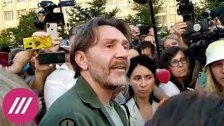 Что Сергей Шнуров делает в Хабаровске и почему на улицы вышло так много людей? // Здесь и сейчас