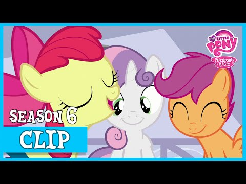 The CMC Try to Find Ponies to Help (On Your Marks) | MLP: FiM [HD]