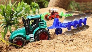 トラクター  | 車のおもちゃ | おもちゃ | ショベルカー |  カー 農業機械