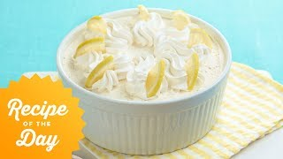 Recipe of the Day: Ina's Fresh Lemon Mousse | Food Network