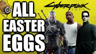 CYBERPUNK 2077 All Easter Eggs, Secrets And References #1