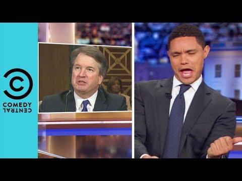 Brett Kavanaugh Seems Really Angry | The Daily Show With Trevor Noah thumbnail