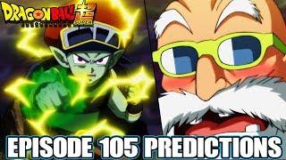 Dragon Ball Super Episode 105 Predictions! A Desperate Battle! Master Roshi