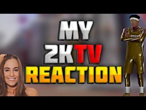 OMG I'M ON 2KTV!😱 RACHEL DEMITA LOOKING LIKE A SNACK!😍 *NOT CLICKBAIT* NBA 2K18