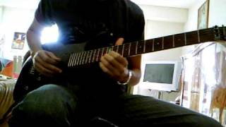 "Hammerfall ""Last Man Standing"" Guitar Cover By Julien"