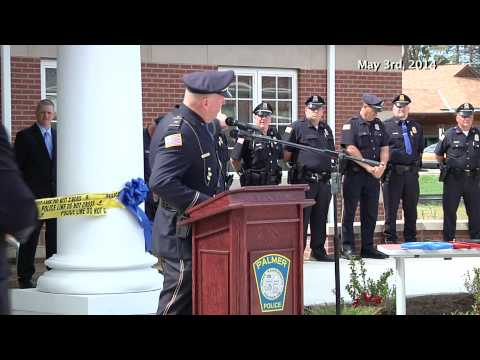 Building the New Palmer Police Station - Ribbon Cutting