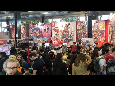 Stand Nintendo Suisse @ Polymanga 2018