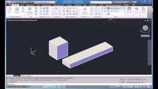 """Видео-урок № 4 """"Виды и отображение 3D-тел в AutoCAD"""""""