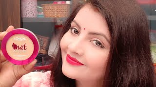 Loreal paris mat magique compact review face powder for oily skin