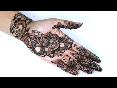 Best Indian Arabic Henna/Mehendi Design For Hand