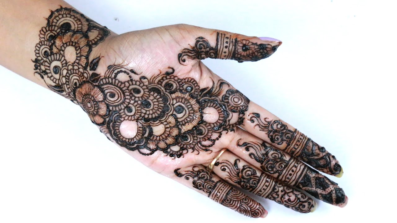 Best Henna Designs: Best Indian Arabic Henna/Mehendi Design For Hand