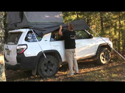 Geo Adventure Gear Awning Review and Set Up