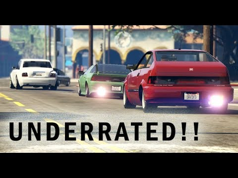 AMAZING GTA 5 ONLINE CAR MEET - Underated Cars