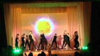танец афро-джаз