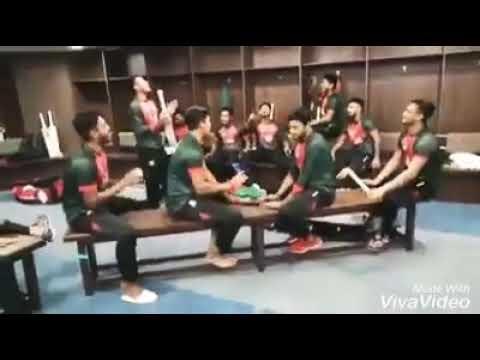 BD players singing O maiya re maiya re tui Oporadi re.