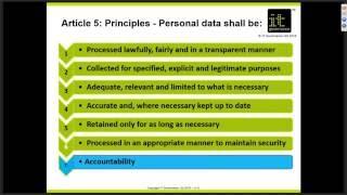 Webinar: Revising policies and procedures under the EU GDPR