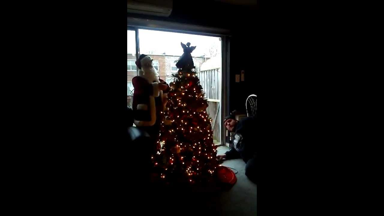 motorized christmas tree - Motorized Christmas Decorations