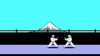 KARATEKA ( MS-DOS - Version for PC ), The forerunner of PRINCE of PERSIA