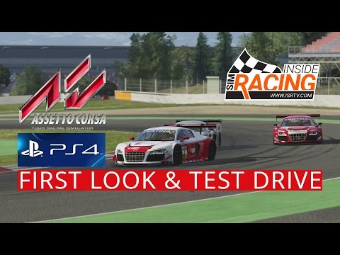 Assetto Corsa PS4  Pre-Release First Look and Test Drive