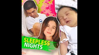 Sleepless nights | KAMI | First-time parents Mark Herras and Nicole Donesa