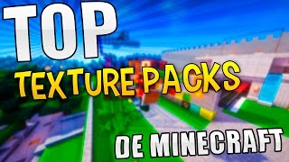 TOP LOS MEJORES TEXTURE PACKS PARA MINECRAFT - USA ESTAS TEXTURAS PARA TUS SERIES Y ROLE PLAY!