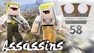 Assassins / MURDER - Minecraft Mini hry 58 w/ GEJMR