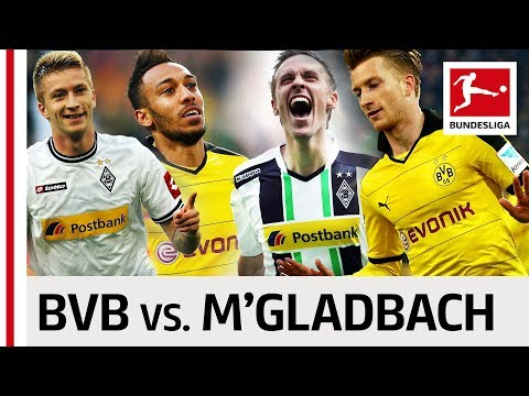 Borussia Dortmund vs. Borussia Mönchengladbach - Top 10 Goals - Reus, Aubameyang & Co.