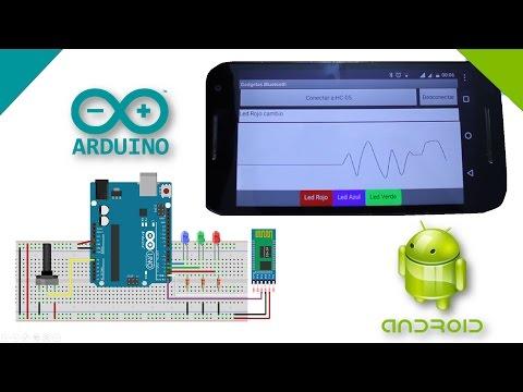 Graficar señal de Arduino en Android por Bluetooth con App Inventor 2
