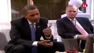 Прикол Форсаж 6   Медведев и Путин в погоне за Обамой