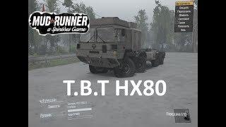 Spintires MudRunner грузовой авто T.B.T HX80