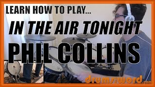 ★ In The Air Tonight (Phil Collins) ★ Drum Lesson PREVIEW | How To Play Song (Phil Collins)