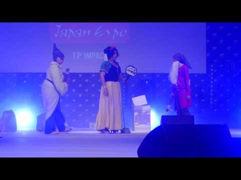 related image - Japan Expo Sud 2017 - Concours Cosplay Vendredi - 11 - Blanche Neige et les deux nains