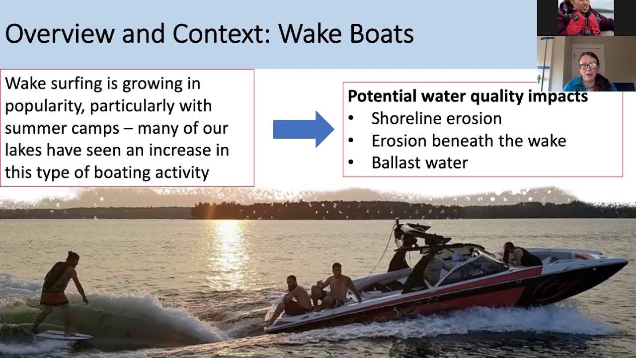 2019 Water Quality in the Belgrade Lakes with Dr. Danielle Wain