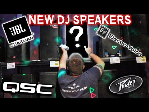 BUYING NEW DJ SPEAKERS! | EV ZLX12P | SOUND TEST | UNBOXING