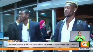 AFCON | Harambee stars receive warm welcome in Cairo