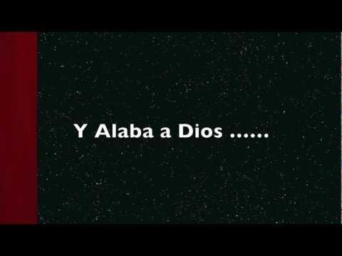 Alaba simplemente alaba ( Un tono abajo) Pista - Danny Berrios