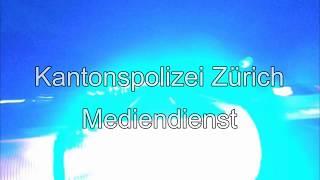 Kantonspolizei Zürich - Blaulichtfahrt