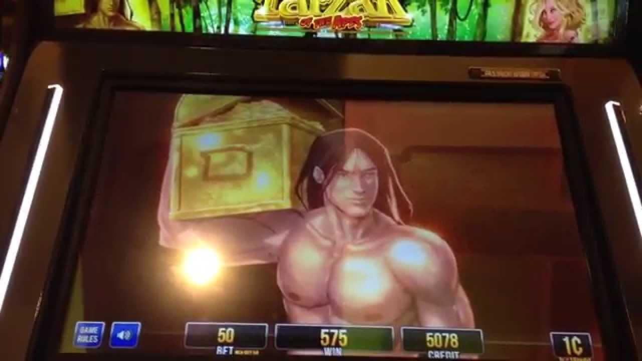 Tarzan Of The Apes Slot Machine