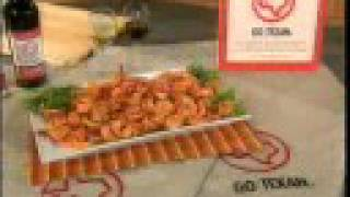 Chef Michael Makes Go Texan Smoked Shrimp