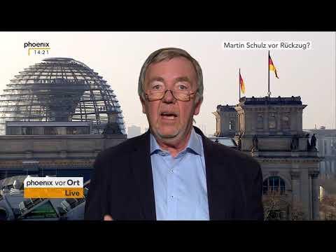 Rolf Kleine zum Verzicht von Martin Schulz auf den Außenministerposten am 09.02.18