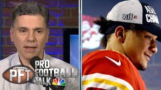 How Patrick Mahomes can improve in 2019 | Pro Football Talk | NBC Sports