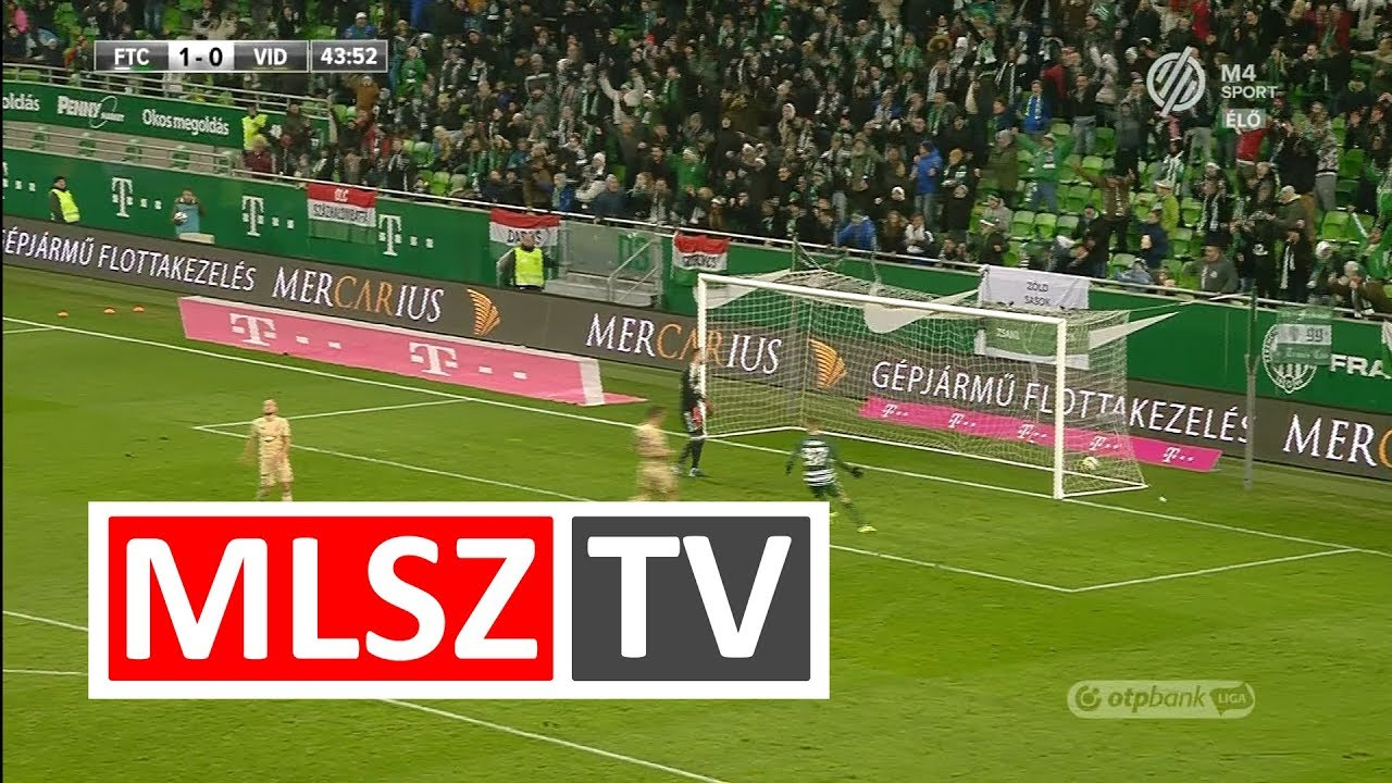 Paintsil Josiph gólja a Ferencvárosi TC - Videoton FC mérkőzésen