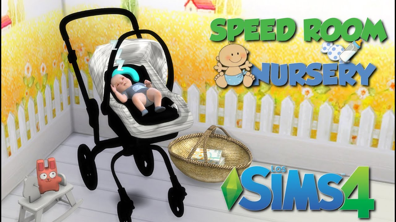 Baby Wall Sticker Speed Room Nursery Los Sims 4 Cc Youtube