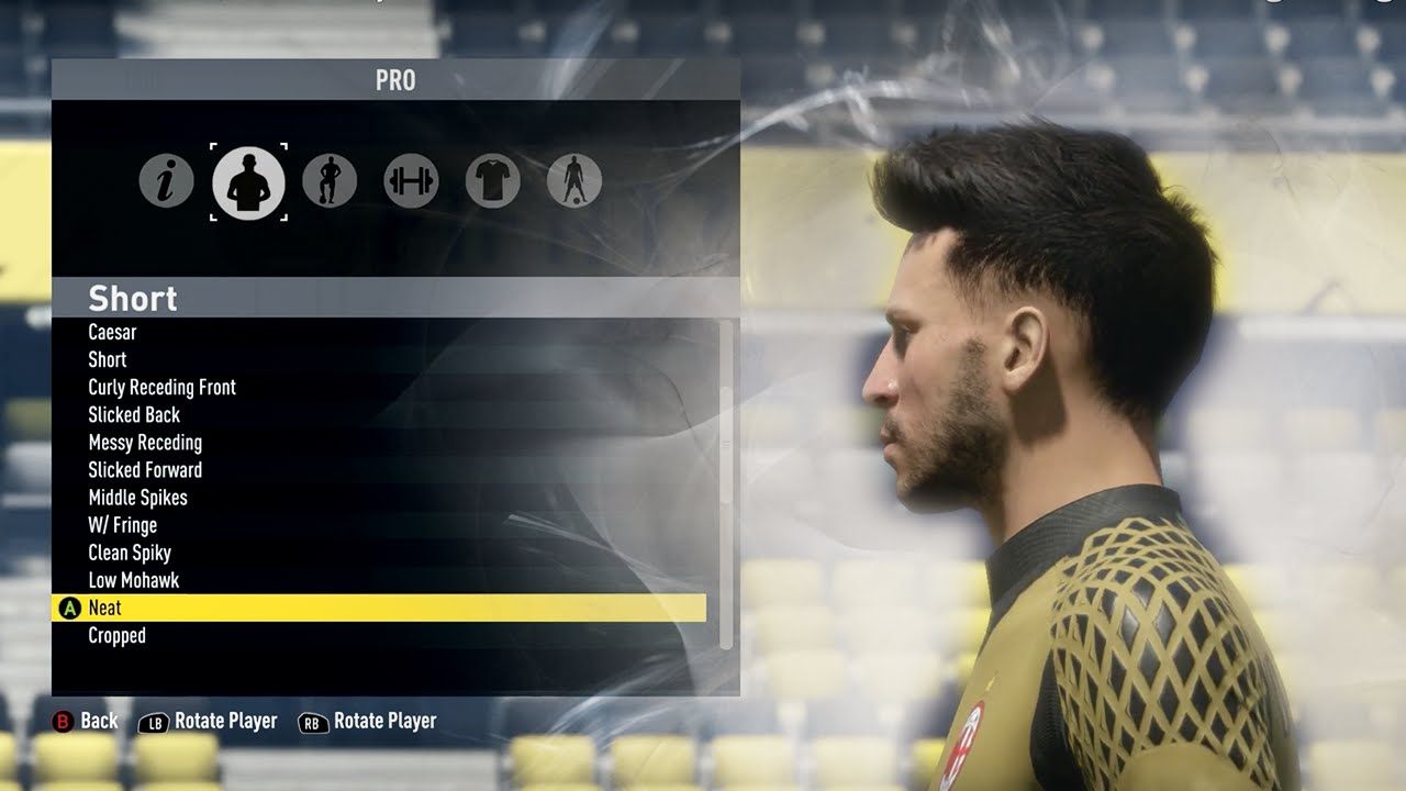 FIFA 17 Pro Clubs NEW Hairstyles Amp Beards YouTube