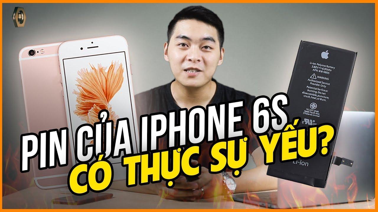 2019 – PIN của iPhone 6s quá YẾU ?
